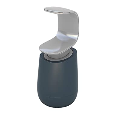 Joseph Joseph 85054 C-Pump Single-Handed Soap Dispenser, Gray