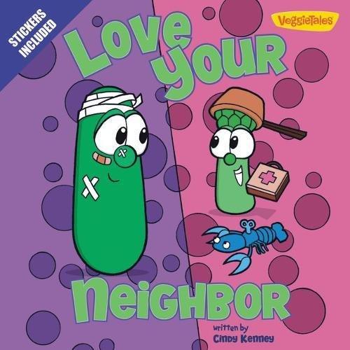 Love Your Neighbor / VeggieTales: Stickers Included! (Big Idea Books)