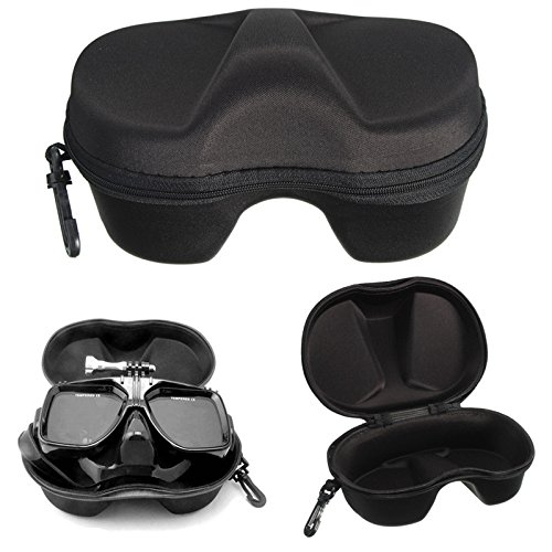 ASIV Portable Diving Mask Case Snorkel Swimming Glasses Storage Box Protective Container Case