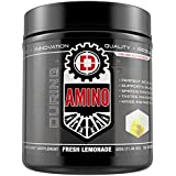 DRIVEN AMINO-BCAA's enhanced with Glutamine- Aids in muscle recovery, increase muscle protein synthesis, and improve lean body mass-Perfect 2:1:1 BCAA ratio- 50 servings-(Fresh Lemonade)