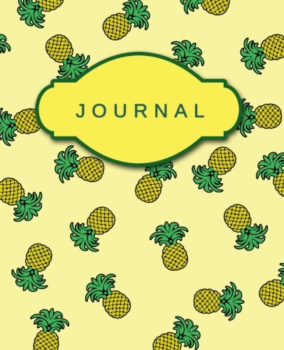 journal yellow pineapples cute notebook bullet journal diary pineapple and turquoise cover design with inspirational quotes inside pineapples