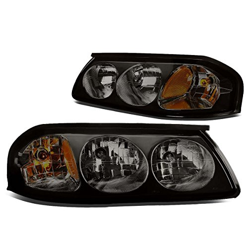 Impala Headlight Assembly - DNA Motoring HL-OH-CI00-SM-AM Headlight Assembly, Driver & Passenger Side