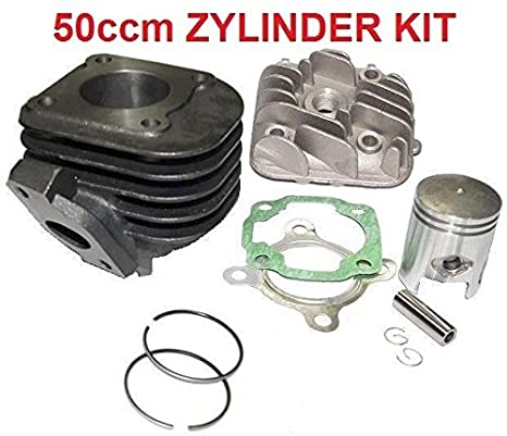 Unbranded Neuer 50ccm Zylinder KIT Nadel Lager KOMPLETT Set f/ür Generic Trigger SM 50 X 50 Zylinderkit