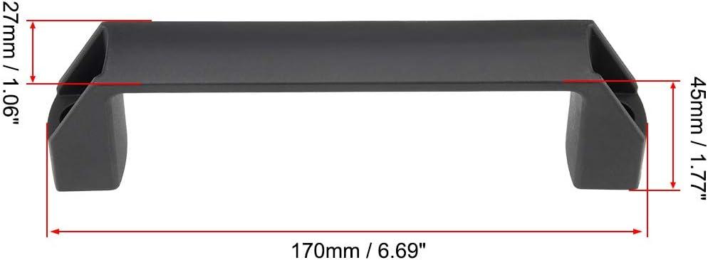 /Équipement m/écanique en plastique de bagage de centres de trou de la poign/ée 180mm de traction