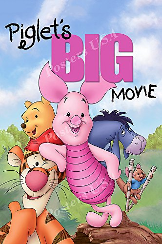 PremiumPrints - Disney Piglet's Big Movie Movie Poster - XFIL092 (Premium Canvas 11