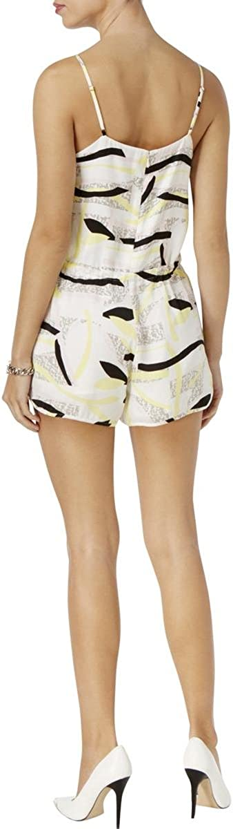 GUESS Womens Sleeveless Maci Dolphin Short Romper