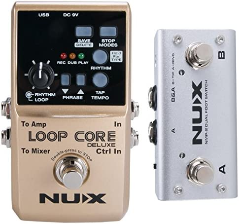NUX Deluxe 24 Bit Looper Pedal product image