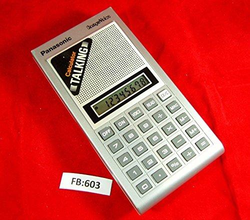 Panasonic JE-7200 Compuvoice - Vintage Talking LCD Calculator
