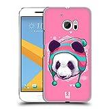 Head Case Designs Hip Panda Fauna Hipsters Hard Back Case for HTC Desire 816