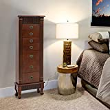 Best Jewelry Armoires - BestMassage Jewelry Cabinet Jewelry Chest Jewelry Armoire Wood Review