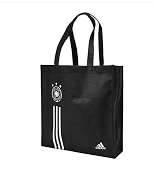 2922502a0e32 adidas Originals DFB Shopping Bag Tote Bag Beach Bag In Black:  Amazon.co.uk: Sports & Outdoors