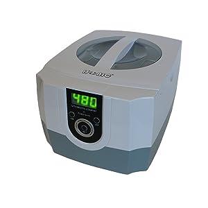 iSonic P4800 Commercial Ultrasonic Cleaner, 1.5Qt/1.4L, White/Gray Color, Plastic Basket, 110V