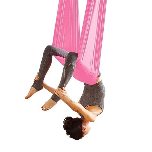 Columpio De Yoga, Hamaca De Yoga Aérea Hogar Hamaca Interior ...