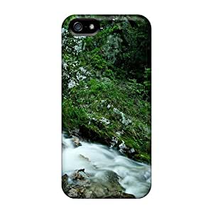 EKtAlVD1315dOOuc Case Cover Beautiful Stream Waterfall Iphone 5/5s Protective Case by icecream design