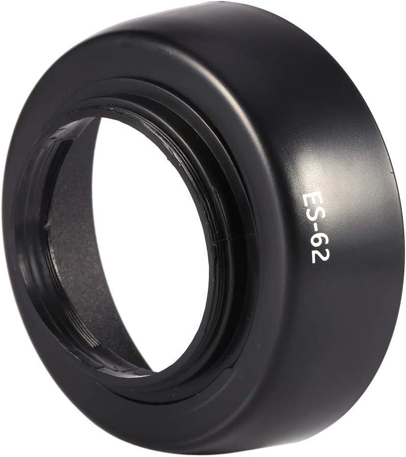 Ayunjia New ES-62 Lens Hood for Canon EOS EF 50mm f//1.8 II ES62 Bayonet Lens Twist Lock