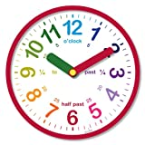 Acctim 21884 Lulu Wall Clock, Red