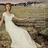 Saint-Saens: Piano Concerto No.2, Cello Concerto No.1, Violin Concerto No.3, Introduction et rondo capriccioso by Praga