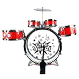 Dazzling-Toys-Junior-Musical-Drum-Set-Rock-Jazz-Kids-Percussion-Instrument-Kit