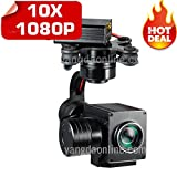 Sky Eye-I 3-Axis Gimbal X10 1080p Zoom Camera for RC Quadcopters & Multirotors Drone,Aerial Photography HD Camera for Inspection,Surveillance,Research and Rescue Mission