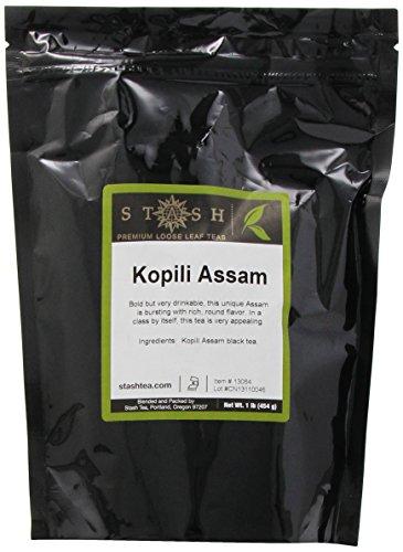 Stash Tea Kopili Estate Special Assam Black Loose Leaf Tea, 16 Ounce Pouch (Order Spring Catalogs)