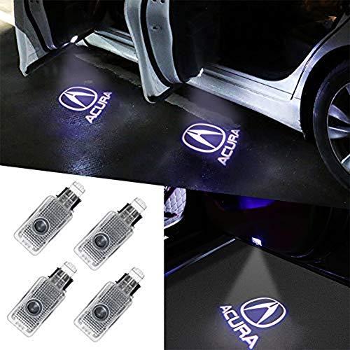 Klinee Acura Accessories Car Door LED Logo Lighting
