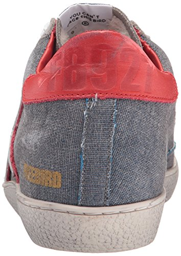 Freebird Kvinna 927 Mode Sneaker Denim Multi