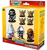 Pack de 4 figurines + 4 invocations hypergames Warriors Krosmaster