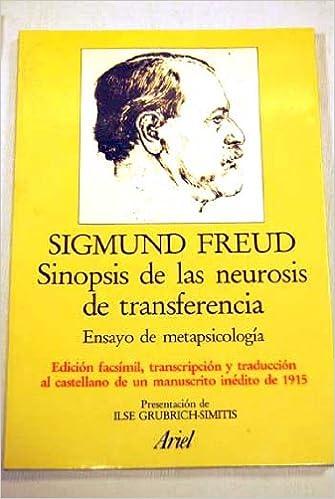 Sinopsis de las neurosis de transferencia: Amazon.es: Sigmund Freud: Libros