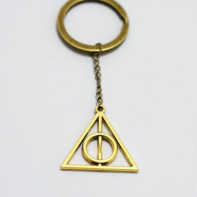 Harry Potter Reliquias de la muerte llavero, con llavero ...