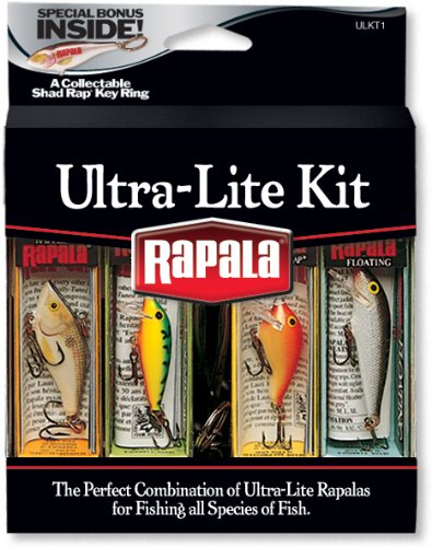 Rapala Ultra Lite Lure Kit, Outdoor Stuffs