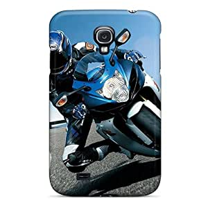 Quality SHiNiNG Case Cover With Suzuki Gsxr Nice Appearance Compatible With Galaxy S4