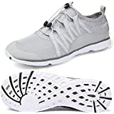 Men Women Aqua Water Shoes - Beach Walking Shoes Quick-Dry Lightweight for Summer Outdoor Sports Exercise