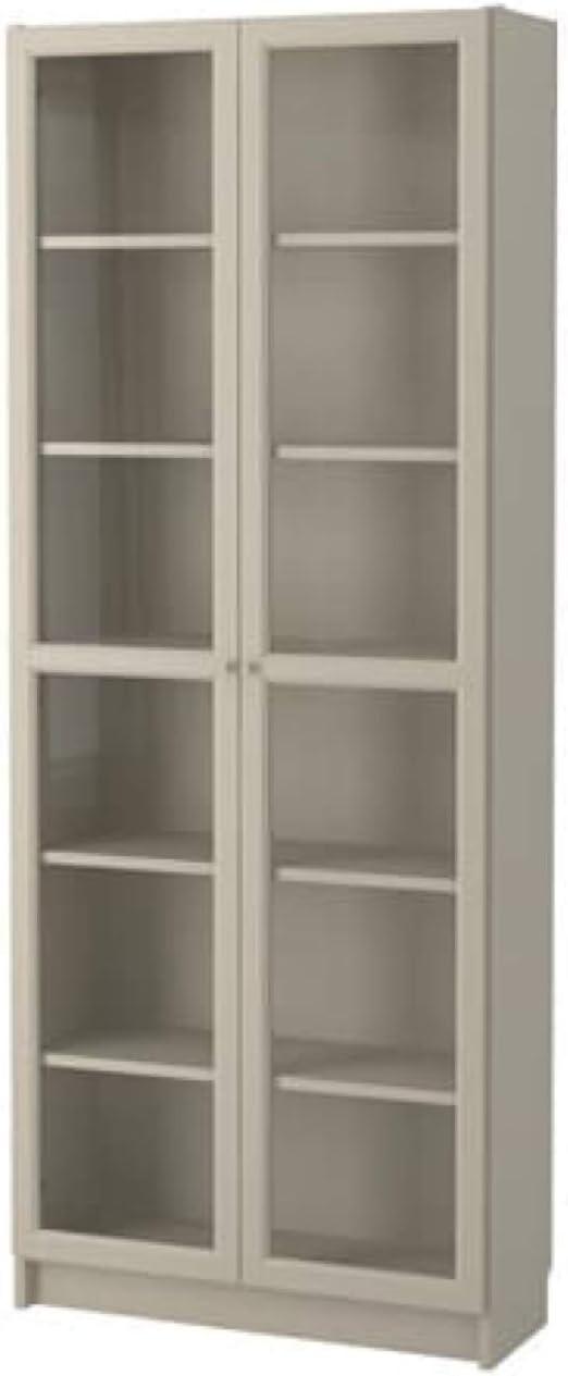 Ikea 503.238.04 - Estantería con puertas de cristal, color ...