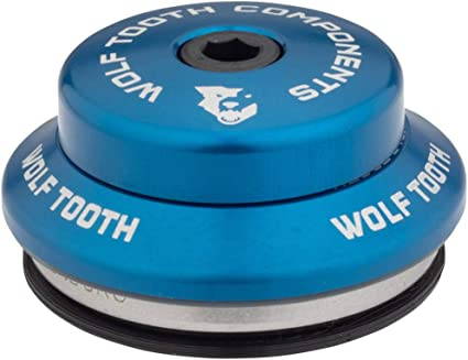 Wolf Tooth ZS44//28.6 Upper Headset 6mm Stack Blue