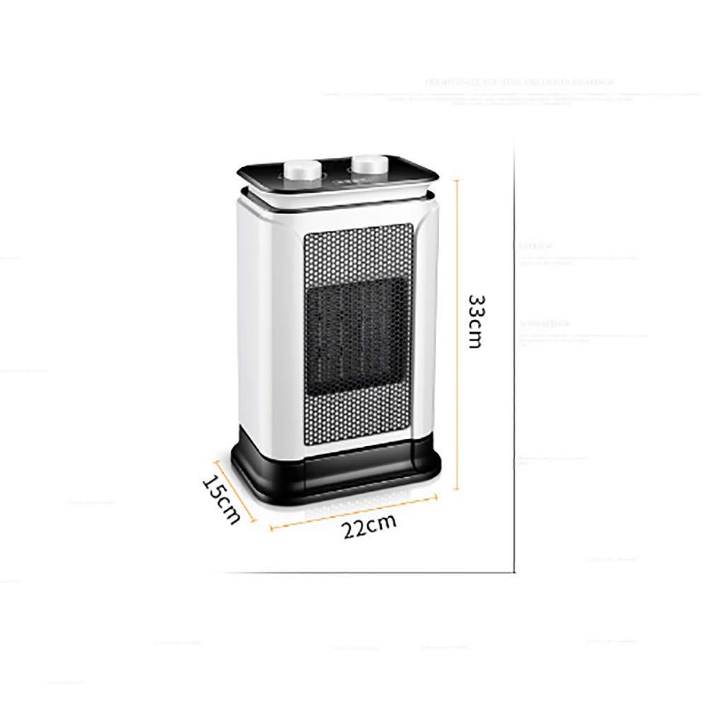XPZ00 Hogar Silenciar El Calentador Ahorro De Energía con Calentador De Banco Calentador Eléctrico, Pequeño Calentador Solar De Cerámica PTC Sacudiendo La ...