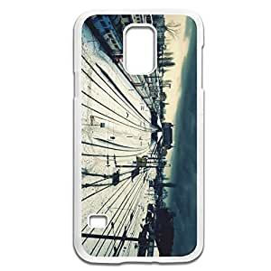 Samsung Galaxy S5 Cases Train Station Design Hard Back Cover Proctector Desgined By RRG2G