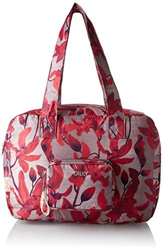 Oilily Enjoy Shopper Xlhz 1 - Bolsos maletín Mujer Rojo (Dark Red)