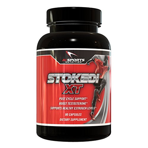 Stoked! XT Estrogen Blocker for Men: All Natural Testosterone Booster, Anti-Estrogen & Aromatase Inhibitor for PCT Post Cycle Support with Ashwagandha PrimaVie & Fenugreek Extract 120 Capsules