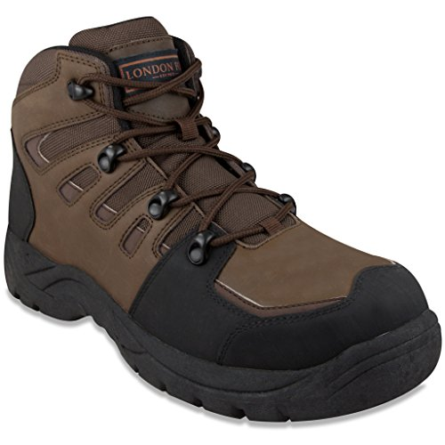 London Fog Mens Gatwick Water Resistant Cold Weather Boot 9 - Gatwick Shops