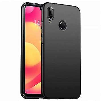 Funda Xiaomi Mi 8 Lite Caja Caso MUTOUREN PC Carcasa Anti-Scratch Anti-rasguños Bumper Protectora de teléfono Case Cover para Xiaomi Mi 8 Lite (Negro)