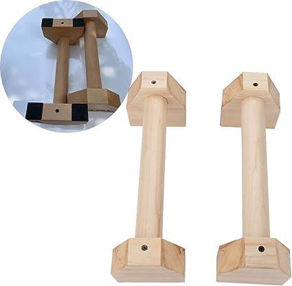 Barbaro gamma lungo in legno parallettes BARRE PARALLELE fatte dal legno duro