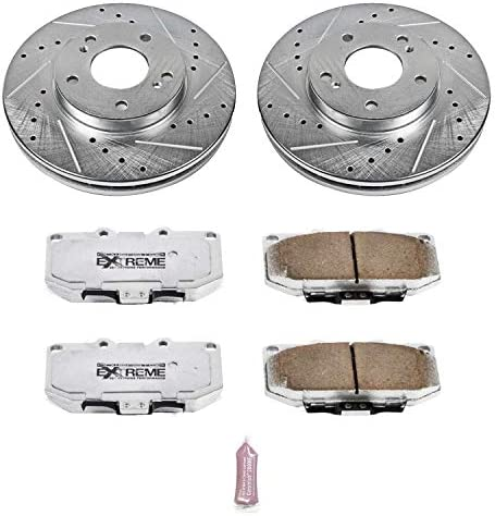 Power Stop K3100-26 Front Z26 Street Warrior Brake Kit Nissan