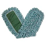Rubbermaid Commercial RCP J855 Dust Mop Heads, 36'', Looped End, Microfiber (Pack of 12)
