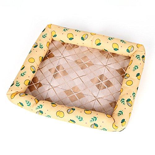 Cupcinu - Manta de Nido para Perro, colchón para Mascotas, Nido de Mascota, caseta, Nido, Animal, cojín para Mascotas, Ideal para el Verano, Estampado con ...