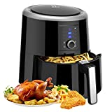 Habor Air Fryer, 5.8QT Air Fryer Xl Oven, Oilless Deep Fryer Cooker with Digital LCD Screen, 1800W Power Air Fryer Auto Off and Memory Function, Detachable Basket Dishwasher Safe, with Free Recipes