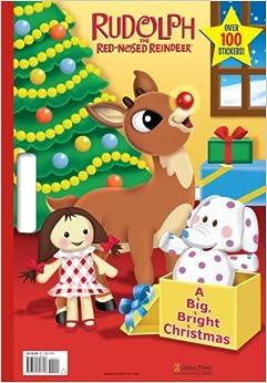 BIG BRIGHT CHRISTMAS Golden Books