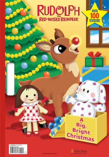BIG BRIGHT CHRISTMAS Golden Books 9780375853753 Amazon