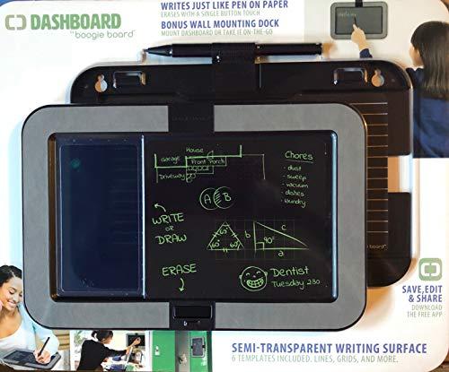 Boogie Board tm Dashboard Boogie Board E-Writer with Wall Mount Gray/Blak