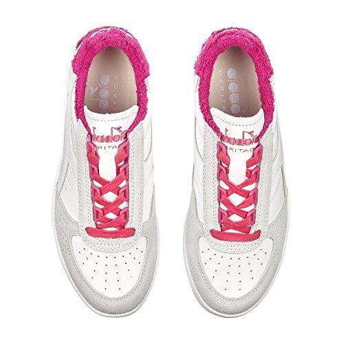 Diadora Heritage - B.Elite Sponge Rosa Magenta - Sneakers Donna