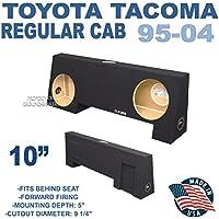 95-04 Toyota Tacoma Regular Cab 10 Dual Sub Box